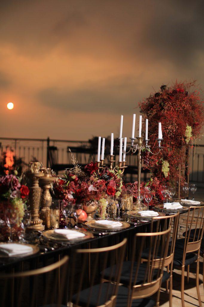 evening uae wedding reception